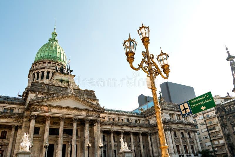 Congreso de la Nacion Argentina, in Buenos Aires. Argentina stock images
