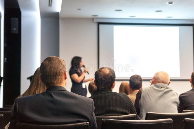 Congreso de negocios foto de archivo libre de regalías