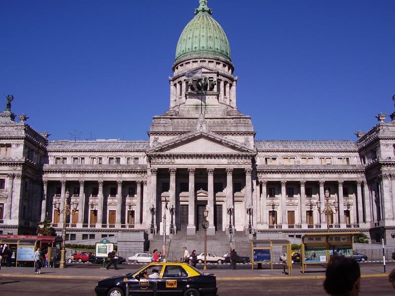 Congreso di Buenos Aires fotografie stock