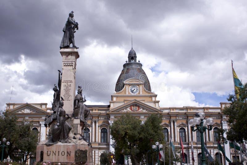 Congreso en La Paz, Bolivia fotos de archivo libres de regalías