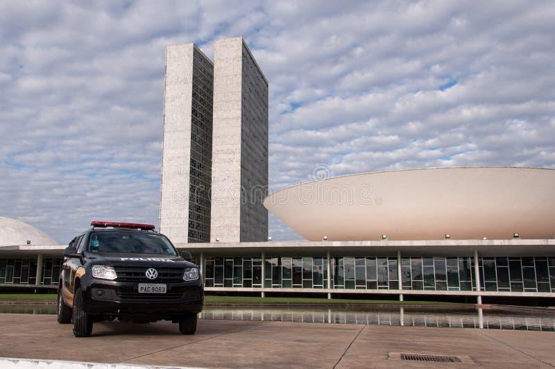 Congreso nacional brasileño foto de archivo
