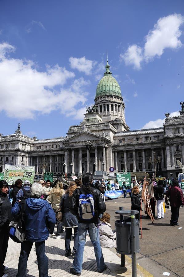 Congreso Nacional, Buenos Aires fotos de stock royalty free