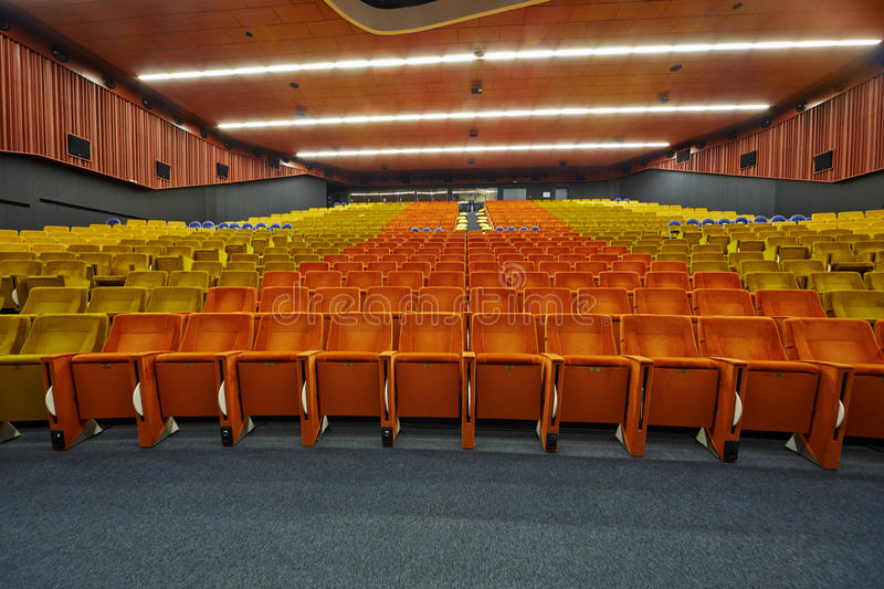 Congress-hall of Moscow School of Management SKOLKOVO. MOSCOW - AUG 20: Congress-hall of Moscow School of Management SKOLKOVO - russian analog of Silicon Valley stock image