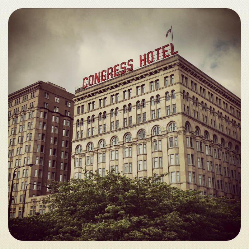 Download Congress Hotel Chicago editorial photo. Image of room - 31501966