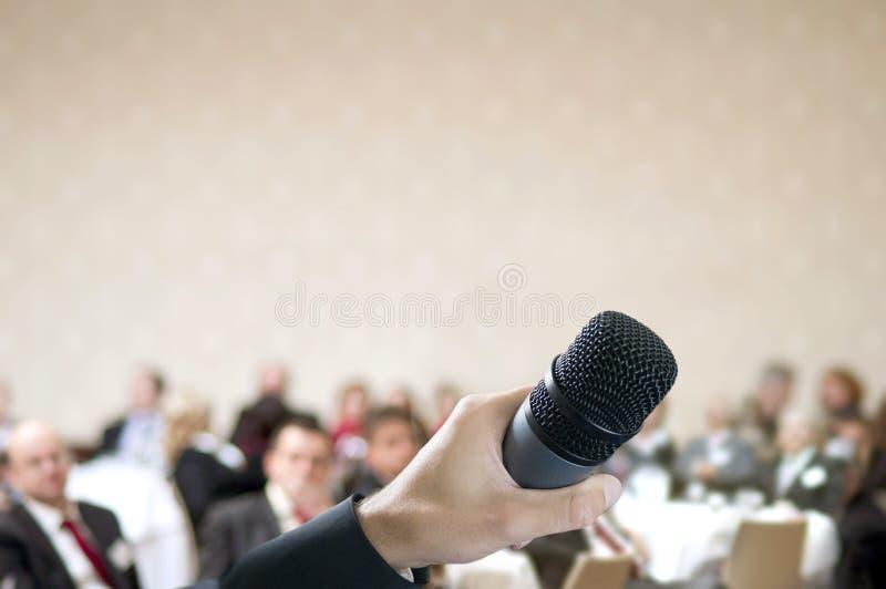 Congresso di affari fotografie stock