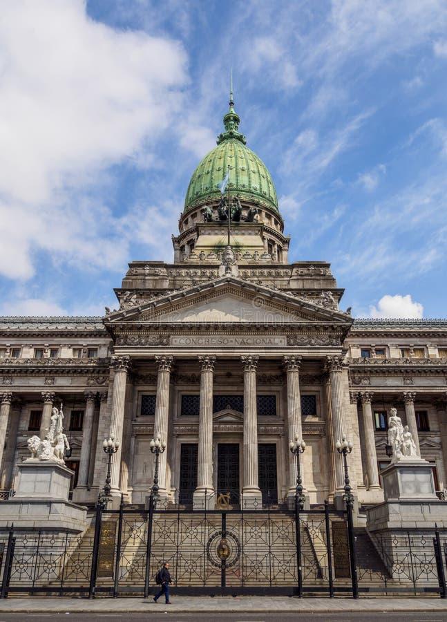 Congresso nacional de Argentina em Buenos Aires fotos de stock