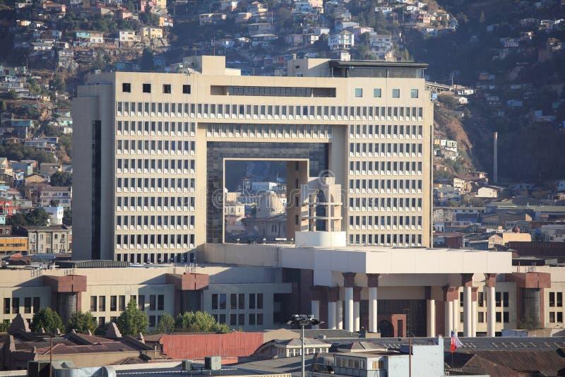 Congresso nazionale del Cile fotografia stock libera da diritti