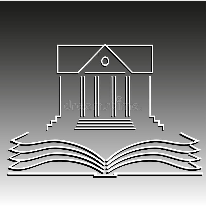 Conhecimento ilustração royalty free