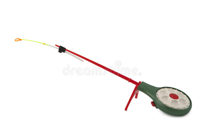 Coni retinici di pesca sul ghiaccio royalty illustrazione gratis