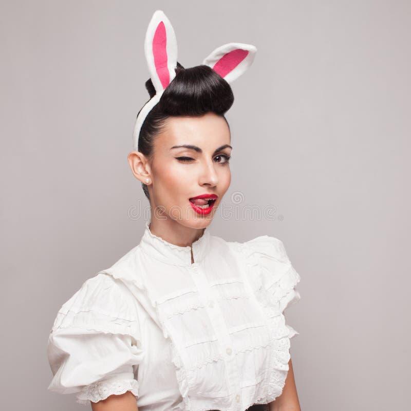 Coniglietta graziosa fotografia stock