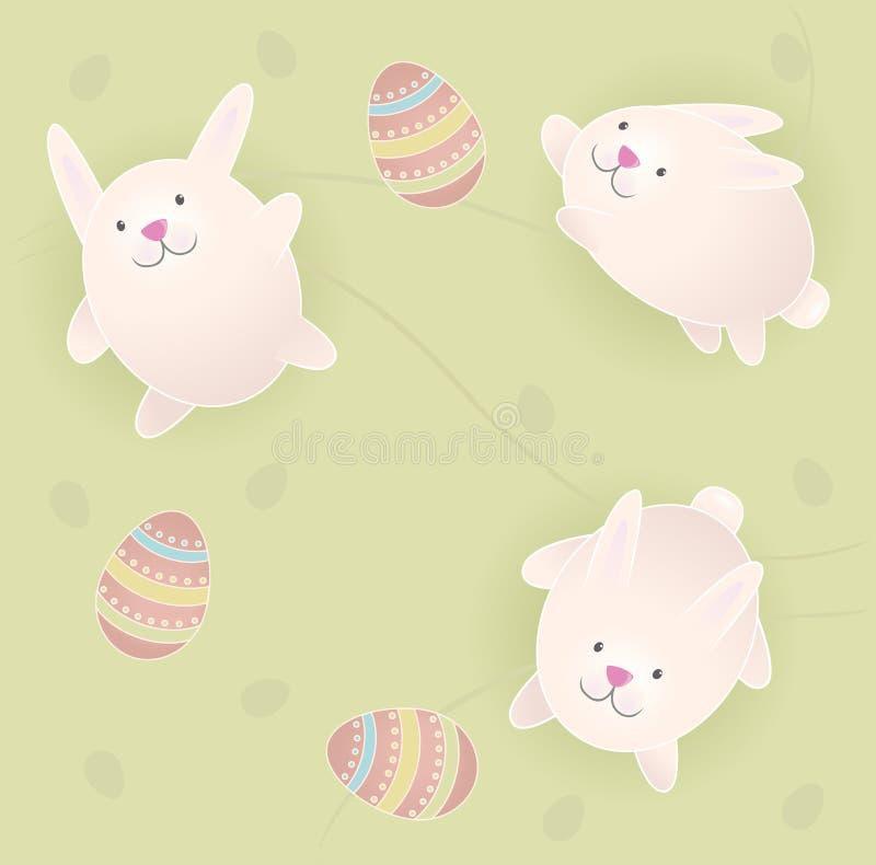 Coniglietti di pasqua illustrazione di stock