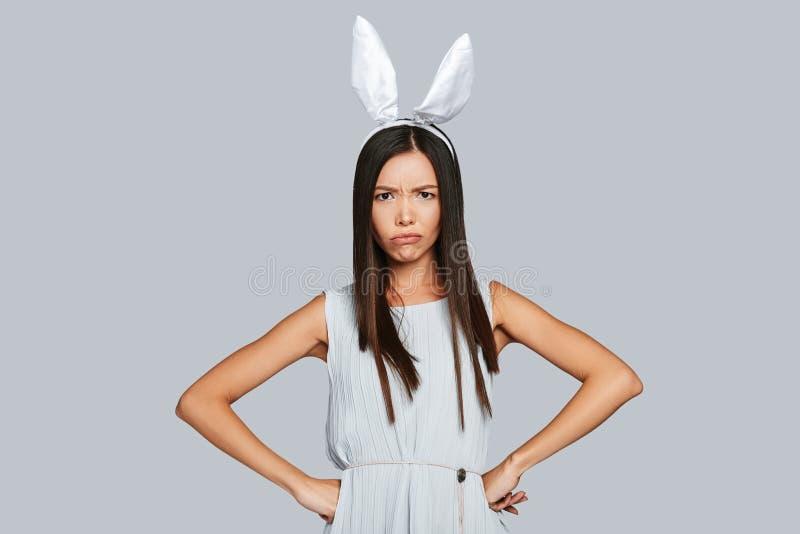 Coniglietto annoiato immagine stock libera da diritti