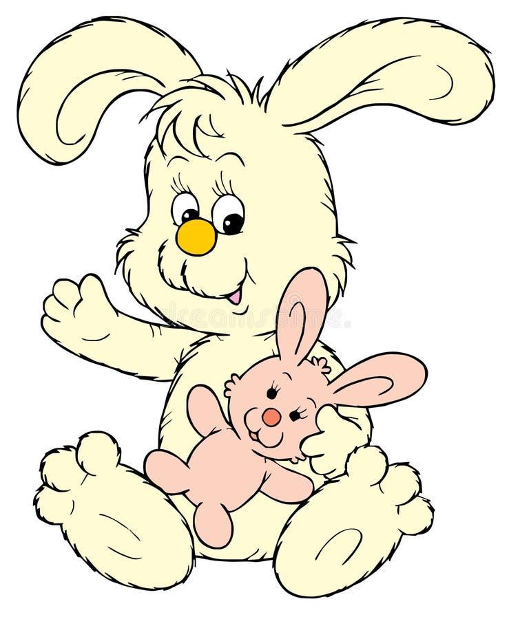 Coniglietto coccolo royalty illustrazione gratis