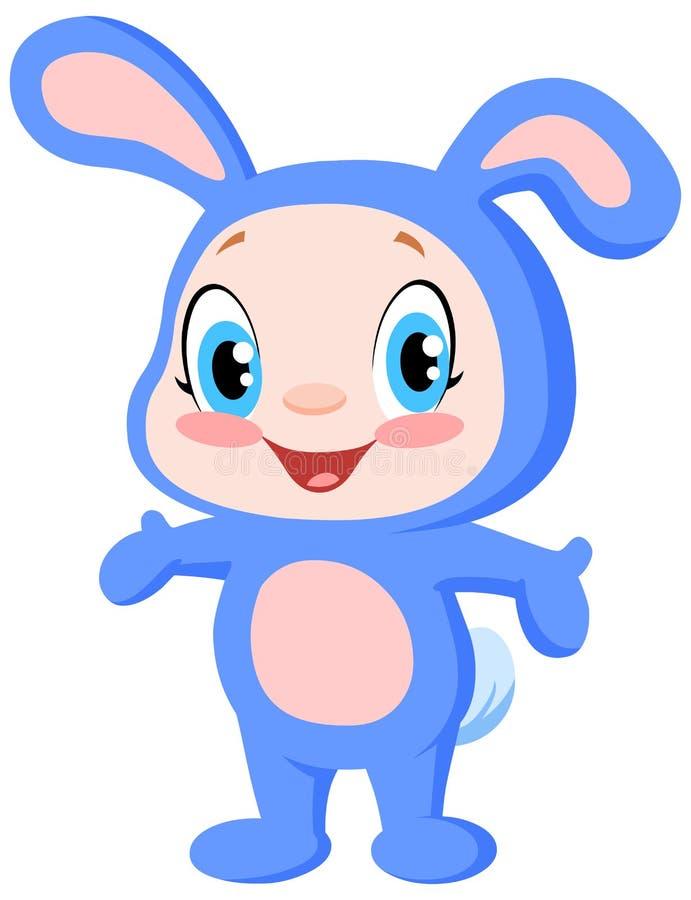 Coniglietto del bambino royalty illustrazione gratis