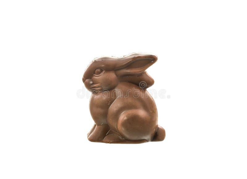 Download Coniglietto Del Cioccolato Isolato Su Priorità Bassa Bianca Fotografia Stock - Immagine di mangi, caramella: 55361988