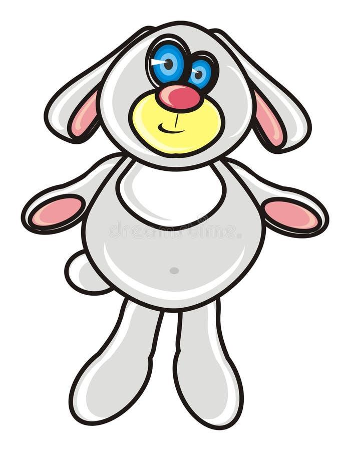 Coniglietto della peluche royalty illustrazione gratis
