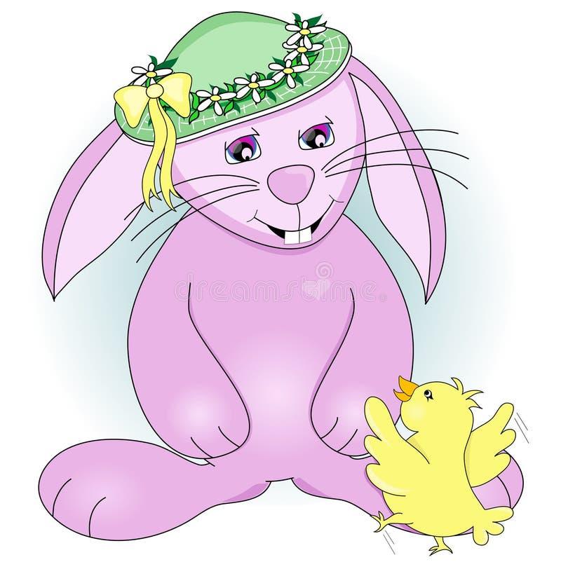 Coniglietto di pasqua royalty illustrazione gratis