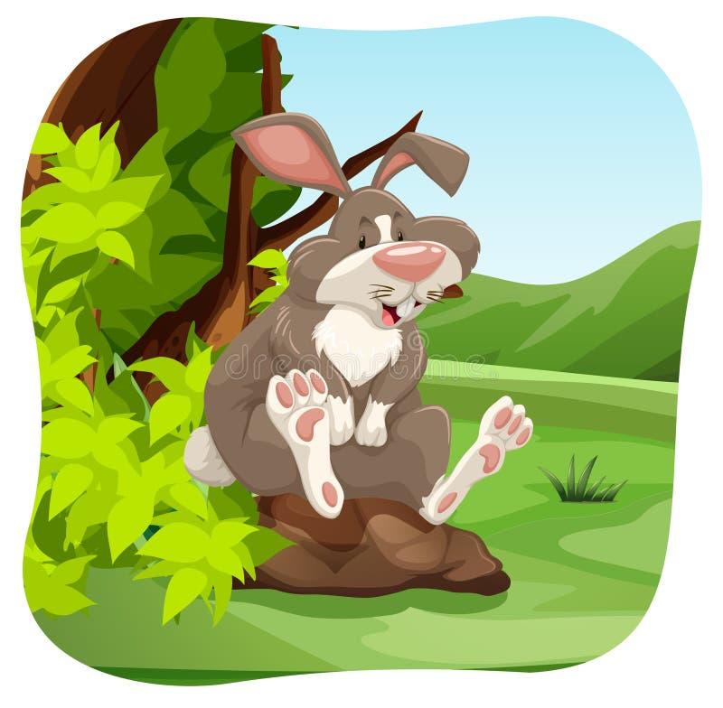 Download Coniglio illustrazione vettoriale. Illustrazione di stile - 55365196