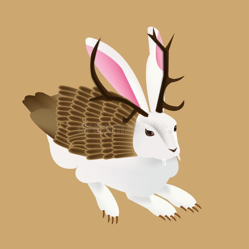 Coniglio del mostro illustrazione di stock