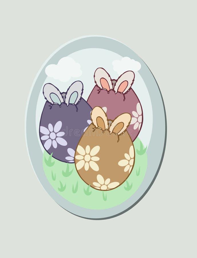 Coniglio delle uova di Pasqua piccolo royalty illustrazione gratis