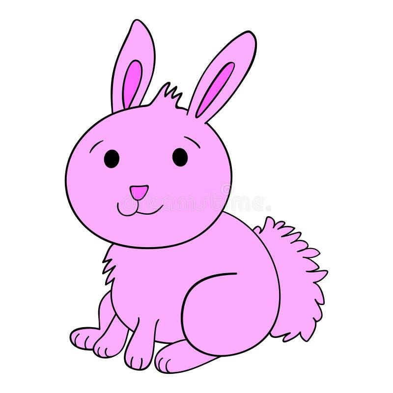 Coniglio di coniglietto sveglio illustrazione vettoriale