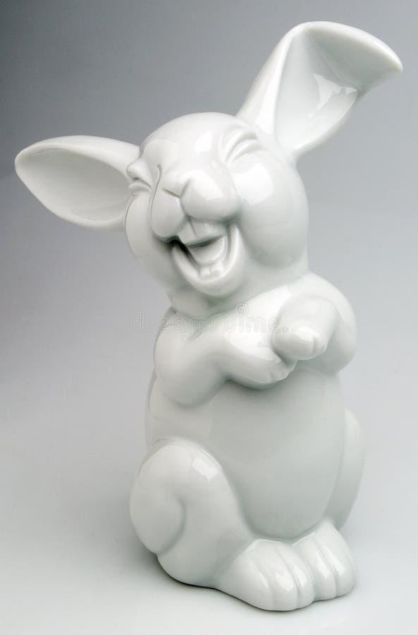 Coniglio sorridente fotografie stock libere da diritti