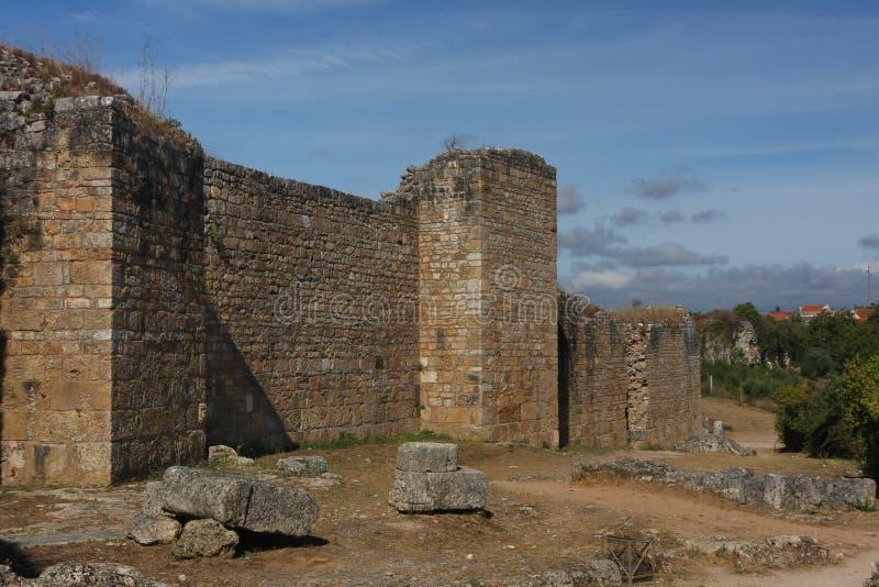 Conimbriga, Portugalia zdjęcia stock