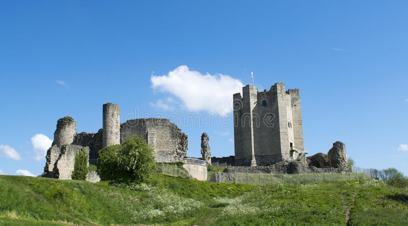 Conisbrough-Schloss stockbild