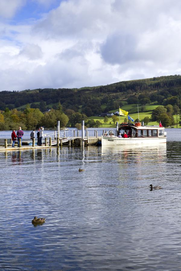 Scenic Lake District - Coniston royalty free stock photography