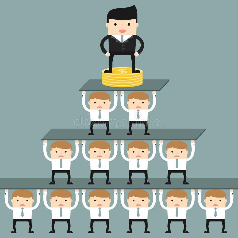 Download Conjoncture économique illustration de vecteur. Illustration du businessman - 56484831