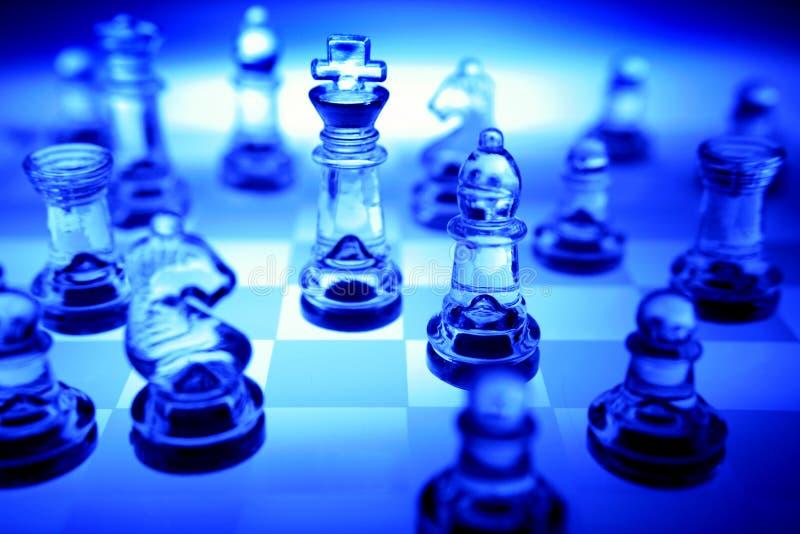 Conjunto de ajedrez fotografía de archivo