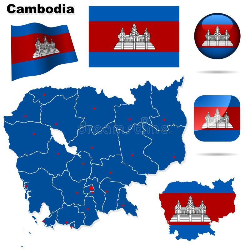 Conjunto de Camboya. libre illustration