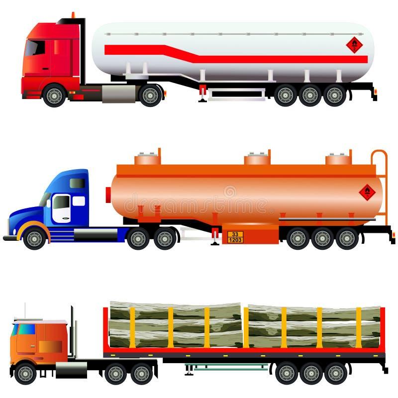 Conjunto de carros libre illustration