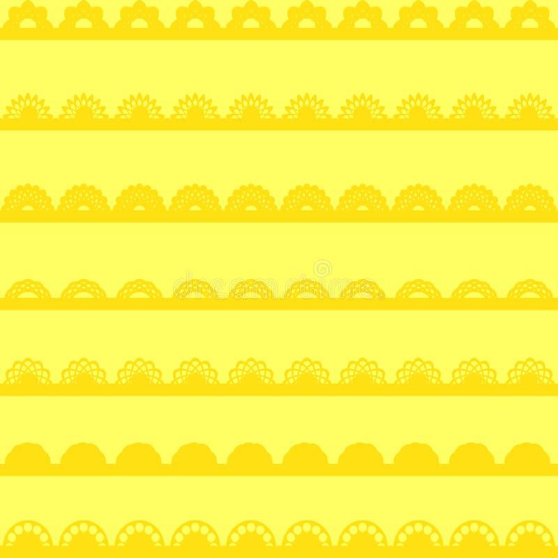 Conjunto de cintas y de fronteras libre illustration