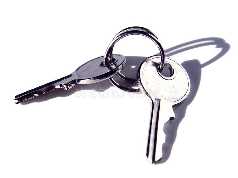 Conjunto de claves imágenes de archivo libres de regalías