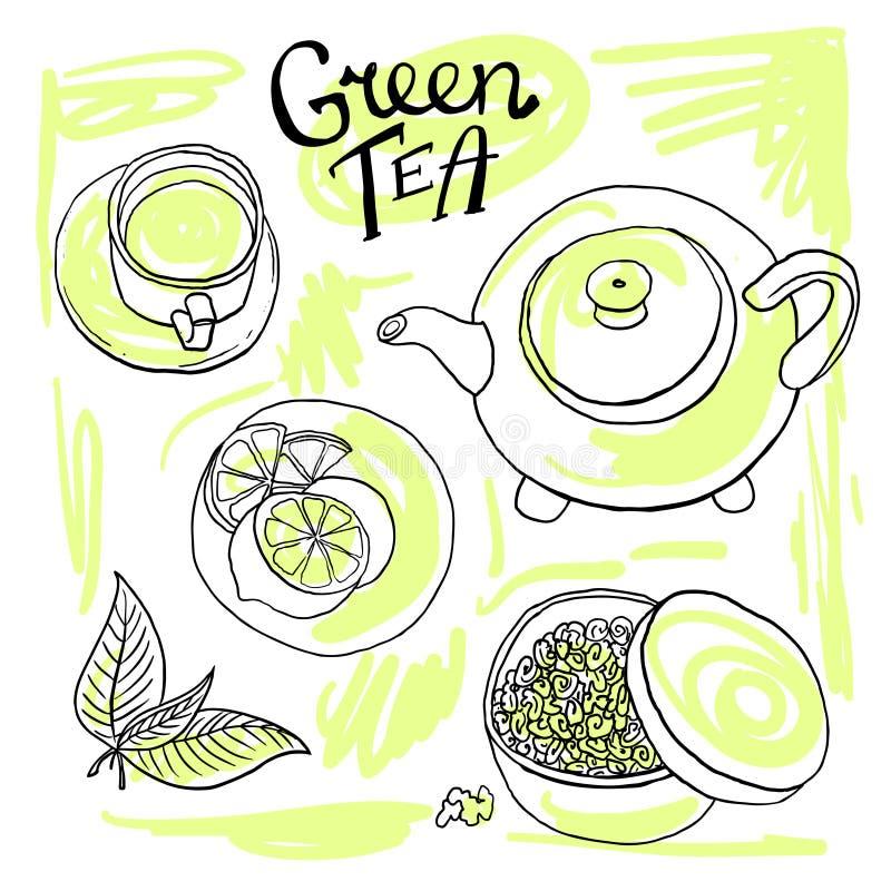 Conjunto de Cofee libre illustration
