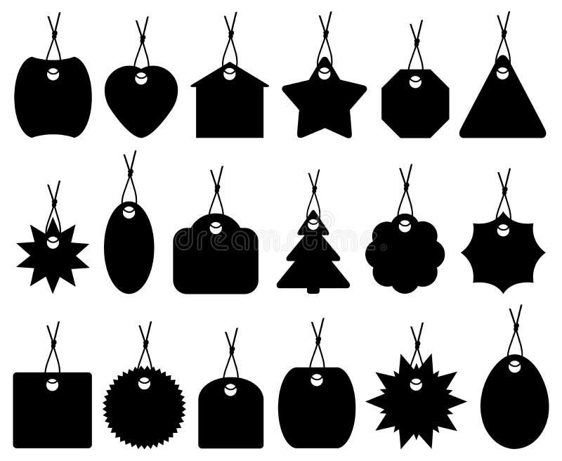 Conjunto de diversos precios libre illustration