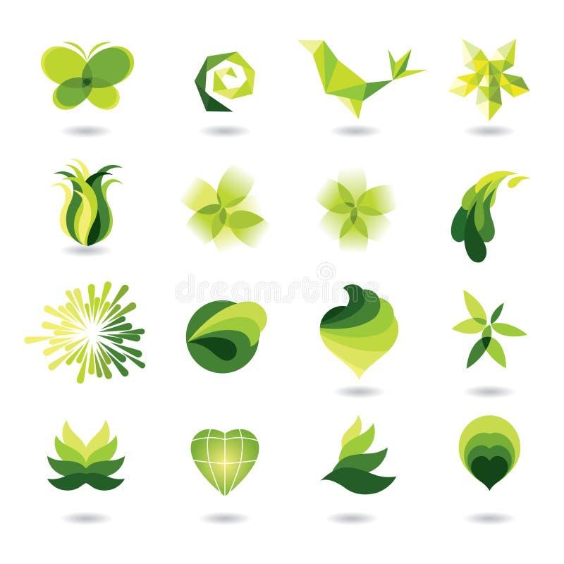 Conjunto de elementos del diseño libre illustration