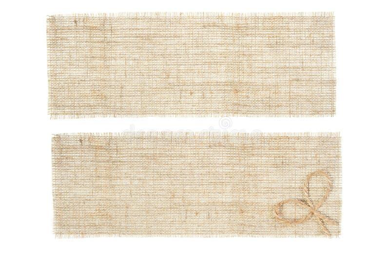 Conjunto de etiquetas de la harpillera imagen de archivo