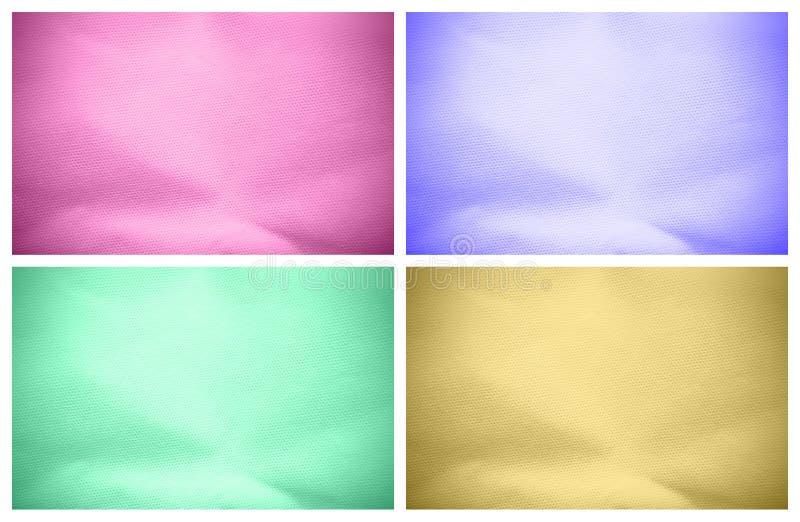 Conjunto de fondos textured imagen de archivo libre de regalías