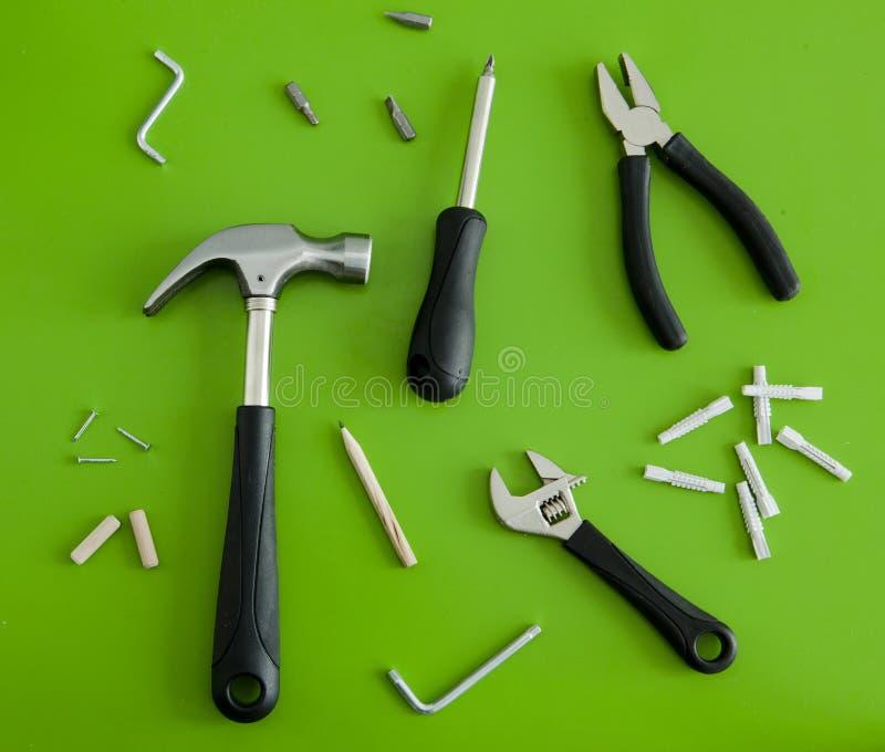 Conjunto de herramientas fotos de archivo