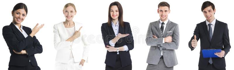 Conjunto de hombres de negocios foto de archivo