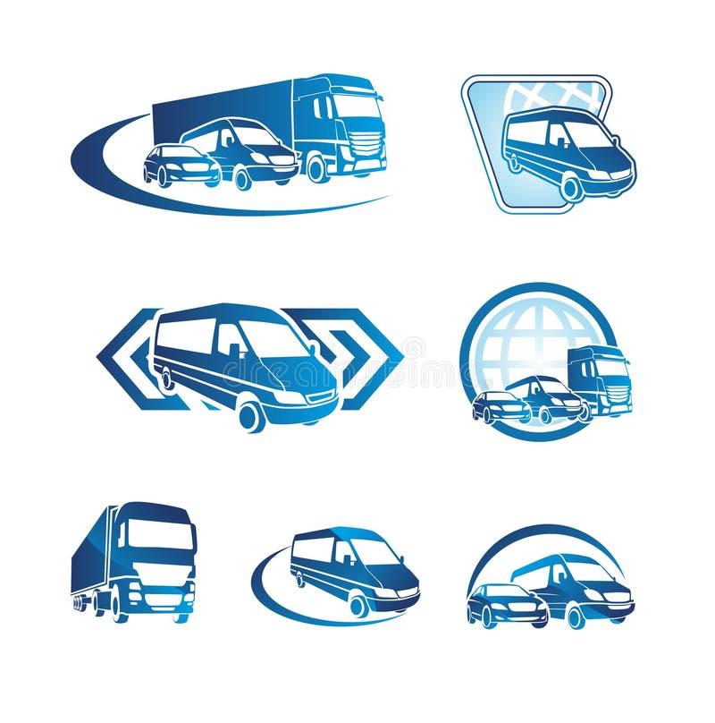 Conjunto de iconos del transporte libre illustration