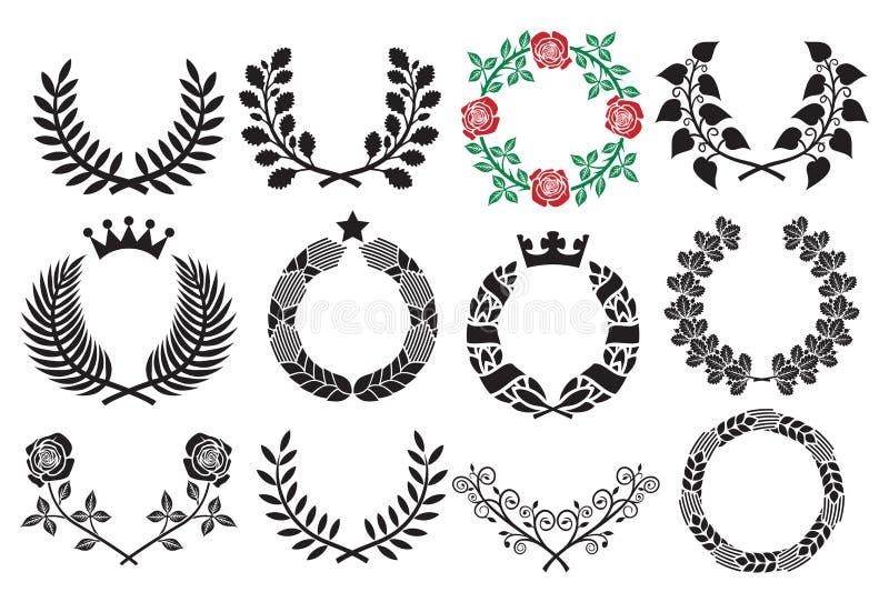Conjunto de la guirnalda libre illustration
