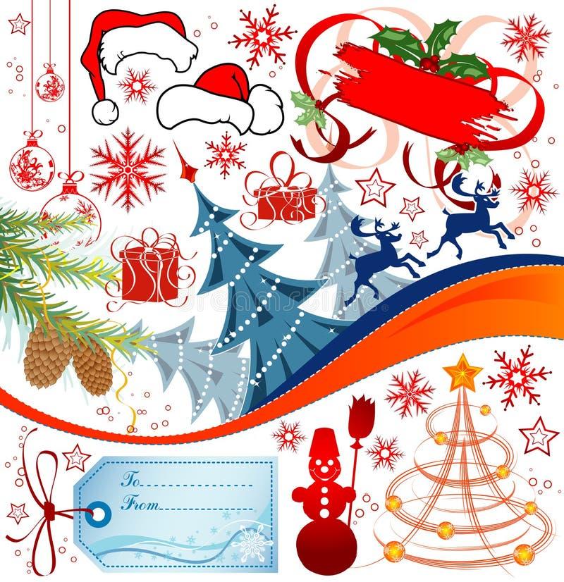 Conjunto de la Navidad libre illustration