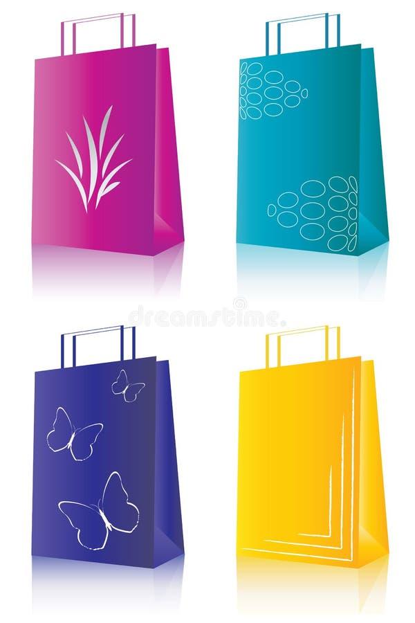 Conjunto de las compras libre illustration