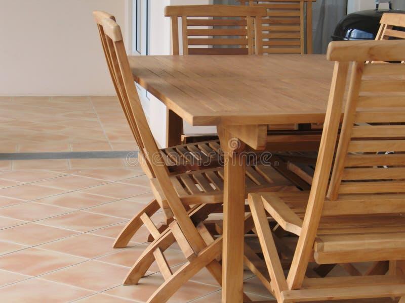 Conjunto de madera 3 imagen de archivo