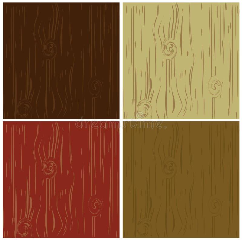 Conjunto de madera del modelo del fondo imagen de archivo libre de regalías