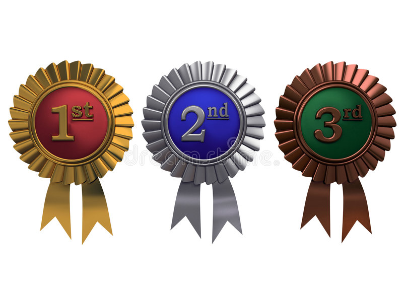 Conjunto de medallas libre illustration