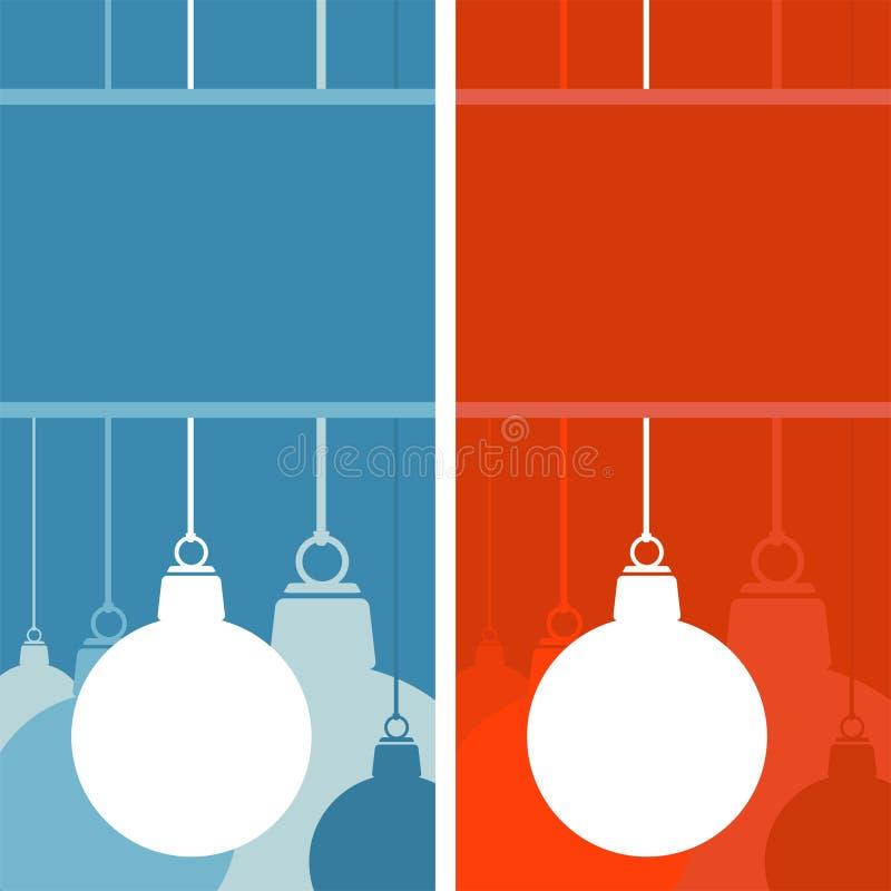 Download Conjunto De Ornamentos De La Navidad Ilustración del Vector - Ilustración de azul, holiday: 6788704